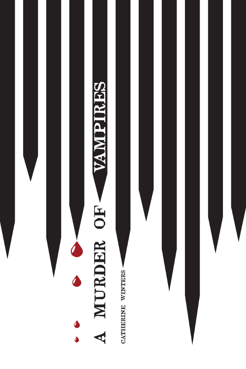 Cover of A Murder Of Vampires: An Imperial Vampires Novel (1st Edition) by Catherine Winters. An urban fantasy prequel to the Josephine Series.