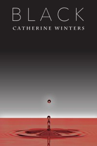 "Cover of ""Black"" (3rd Edition) by Catherine Winters. A vampire urban fantasy novel set in Denver, Colorado."