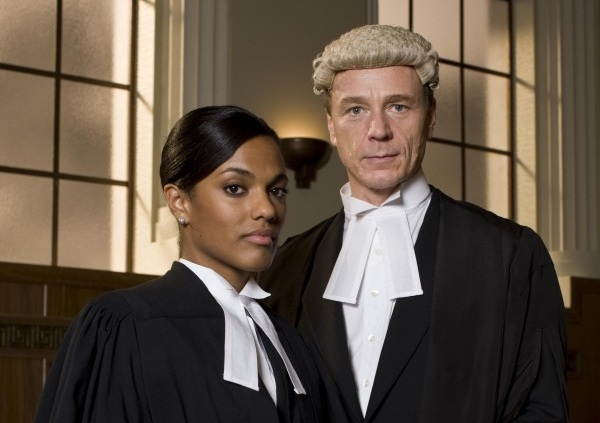 All courts should require wigs. On everyone.