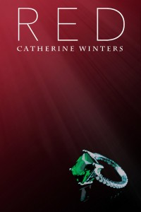 "Cover of ""Red"" (1st Edition) by Catherine Winters. A vampire urban fantasy novel set in Denver, Colorado."