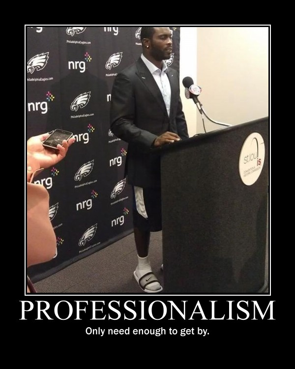 Professionalism - Just Getting By